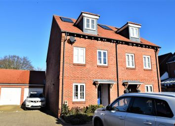Thumbnail 3 bed semi-detached house for sale in Kingshill Court, High Wycombe