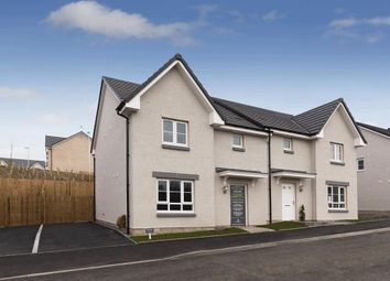 """Thumbnail 3 bed semi-detached house for sale in """"Craigend"""" at Wellpark, Kemnay, Inverurie"""