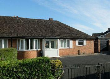 Thumbnail 3 bed semi-detached bungalow for sale in Elmsdale Road, Ledbury