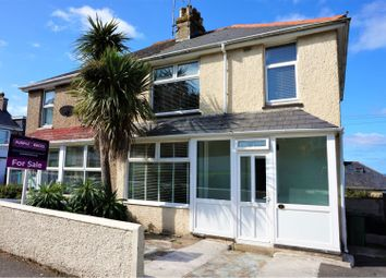 Thumbnail 3 bed semi-detached house for sale in St. Michaels Road, Newquay