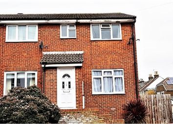 Thumbnail 3 bed end terrace house for sale in Brompton Lane, Strood