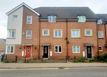 Thumbnail 3 bed town house for sale in Humberstone Lane, Thurmaston, Leicester