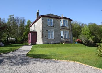 Thumbnail 5 bed detached house for sale in Dalmarnock, Eastlands Road, Rothesay, Isle Of Bute