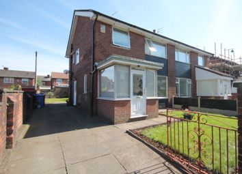 Thumbnail 3 bedroom semi-detached house to rent in Acresfield Road, Salford