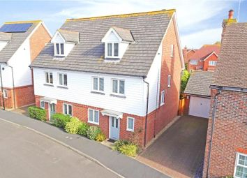 Thumbnail 5 bed semi-detached house for sale in Bramley Green, Angmering, West Sussex