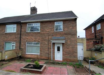 Thumbnail 3 bed semi-detached house for sale in Strelley Road, Strelley