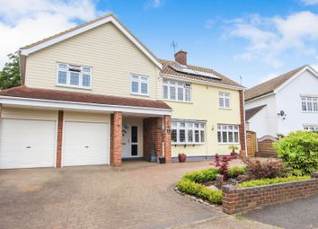 Thumbnail 6 bed detached house for sale in Kingswood Crescent, Rayleigh, Essex
