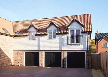 Thumbnail 2 bed flat to rent in Minns Crescent, Poringland, Norwich