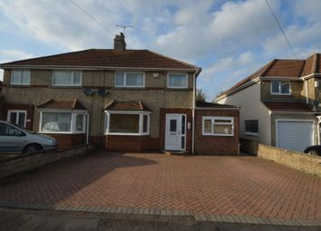 Thumbnail 4 bed semi-detached house for sale in Woodside Avenue, Swindon
