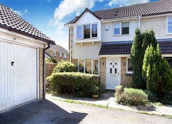 Thumbnail 3 bed end terrace house for sale in Vancouver Drive, Oakridge, Crawley