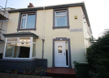 Thumbnail 3 bedroom end terrace house for sale in Glenavon Road, Plymouth