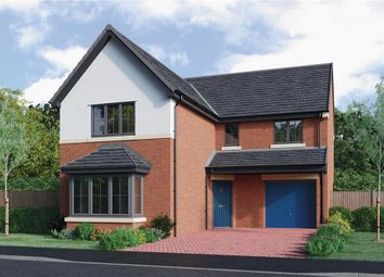 "Thumbnail 4 bedroom detached house for sale in ""The Fenwick Alternative"" at Roundhill Road, Hurworth, Darlington"