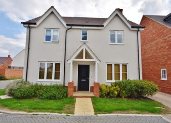 Thumbnail 4 bed detached house for sale in Elder Close, Didcot