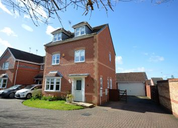 Thumbnail 4 bedroom detached house for sale in Willow Herb Close, Oadby, Leicester