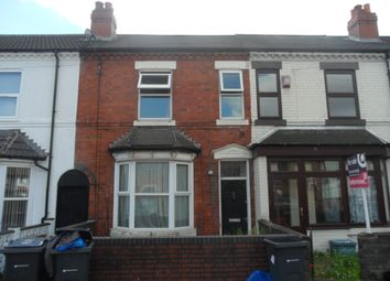 Thumbnail 3 bed terraced house to rent in Wyrley Road, Witton, Birmingham