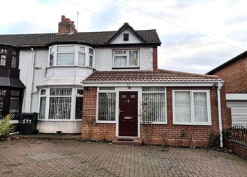 Thumbnail 5 bed semi-detached house for sale in Shaftmoor Lane, Hall Green, Birmingham