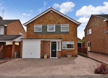 Thumbnail 3 bed detached house for sale in St. Ives Road, Wigston, Leicester