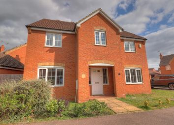 Thumbnail 4 bed detached house for sale in Spriggs Close, Clapham, Bedford