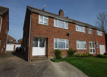 Thumbnail 3 bed semi-detached house to rent in Westway, Copthorne, Crawley