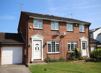 Thumbnail 3 bed semi-detached house for sale in Grantham Close, Freshbrook Swindon, Swindon