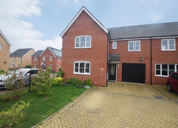 Thumbnail 4 bed semi-detached house for sale in Sarah Rand Road, Hadleigh, Ipswich