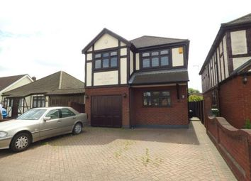 Thumbnail 4 bed detached house for sale in Upminster Road North, Rainham