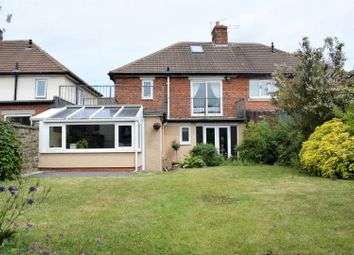 Thumbnail 3 bed semi-detached house for sale in Jobling Crescent, Morpeth