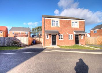 Thumbnail 2 bed semi-detached house for sale in Elden Grove, Morpeth