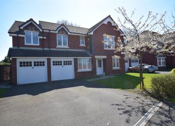 Thumbnail 5 bed detached house for sale in Beech Hollows, Rossett, Wrexham