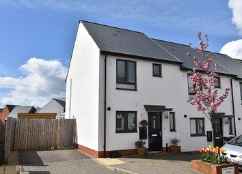 Thumbnail 2 bed end terrace house for sale in Milbury Farm Meadow, Exminster, Near Exeter