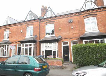 Thumbnail 3 bed terraced house for sale in Regent Road, Harborne, Birmingham