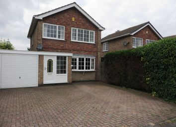 Thumbnail 3 bed detached house for sale in Mickledale Close, Bilsthorpe, Newark