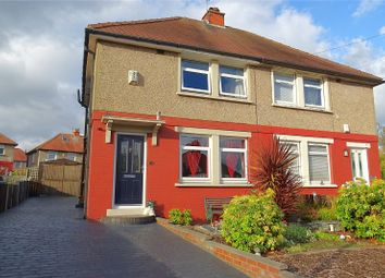 Thumbnail 2 bed semi-detached house for sale in Thompson Avenue, Bradford, West Yorkshire