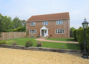 Thumbnail 4 bed detached house to rent in Bedford Bank, Welney, Wisbech
