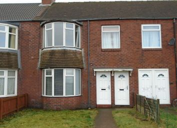 Thumbnail 1 bed flat to rent in West Bridge Street, Cambois, Blyth