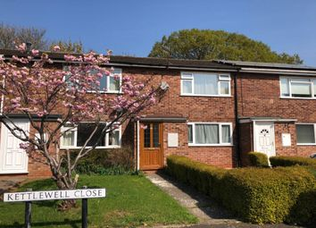 Thumbnail 2 bed terraced house for sale in Kettlewell Close, Warwick