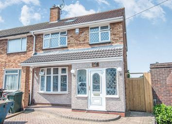 Thumbnail 4 bed end terrace house for sale in Brixham Drive, Wyken, Coventry