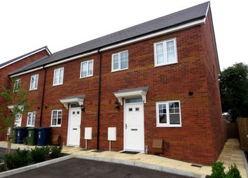 Thumbnail 2 bed end terrace house for sale in Pattens Close, Whittlesey, Peterborough