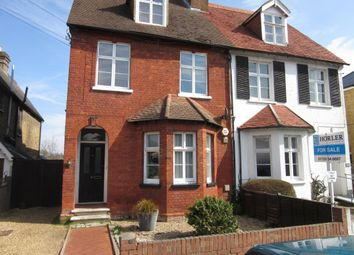 Thumbnail 2 bed flat to rent in Montagu Road, Datchet, Slough