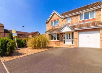 Thumbnail 4 bed detached house for sale in Langsett Court, Doncaster