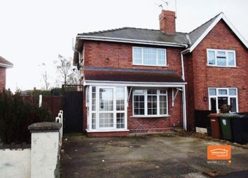 Thumbnail 3 bedroom semi-detached house to rent in Booth Street, Bloxwich, Walsall