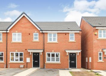 Thumbnail 2 bed end terrace house for sale in Barley Close, Thorpe Willoughby
