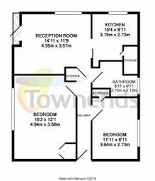 Thumbnail 2 bed maisonette for sale in Pridham Road, Thornton Heath, Surrey