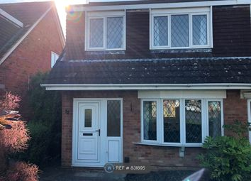 Thumbnail 3 bed semi-detached house to rent in Medoc Close, Cheltenham