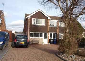 Thumbnail 5 bed semi-detached house for sale in Priorylands, Stretton, Burton-On-Trent, Staffordshire