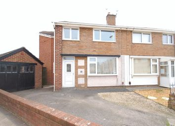 Thumbnail 4 bed semi-detached house for sale in Hurstmere Avenue, Blackpool