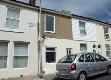 Thumbnail 3 bedroom terraced house for sale in St. Vincent Road, Southsea