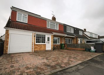 Thumbnail 4 bed semi-detached house for sale in Standish Avenue, Stoke Lodge, Bristol