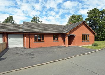 Thumbnail 3 bed detached bungalow for sale in Dolau, Llandrindod Wells