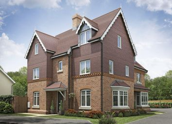 "Thumbnail 4 bedroom semi-detached house for sale in ""Aydon"" at Gold Furlong, Marston Moretaine, Bedford"